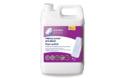 Premiere Premac Super floor polish 5ltr